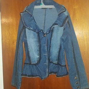 Victorian jean jacket